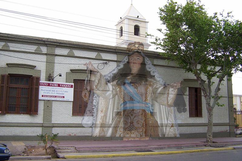 Foto Frente y Virgen